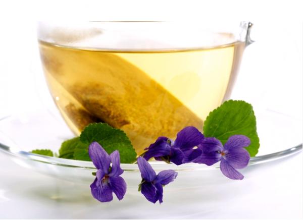 Чай из лечебной полевой фиалки